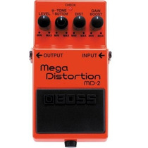Pedal Boss Md2 Mega Distortion;10131 Unimusic