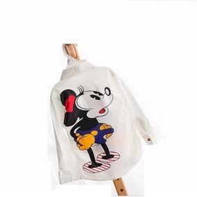 Camisa Infantil De Algodão Mickey Mouse - A Pronta Entrega