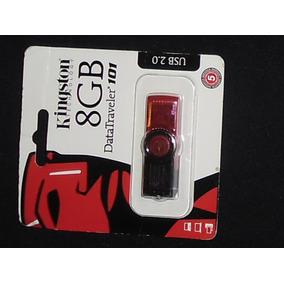 Memorias Y Pendrive Kingston 8gb Clase A Original Color Rojo