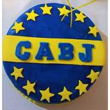 Torta Cumpleaños Infanties Todos Equipos Futbol Boca River