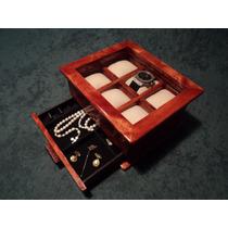Caja De Madera Para Coleccion De Relojes-regalo Empresarial