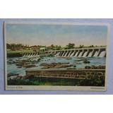 Cartão Postal Pirassununga Cachoeiras De Emas São Paulo