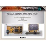 Placa Video S3 Trio3d/2x De 8mb Zocalo Agp Funcionando 11