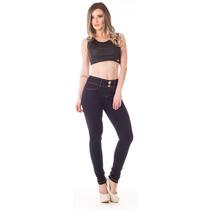 Calça Jeans Feminina Up Fit Média Skinny - Collége
