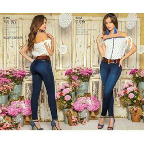 Jeans Fajero Modelos Colombianos Slim Jeans Strech En 28/ 34
