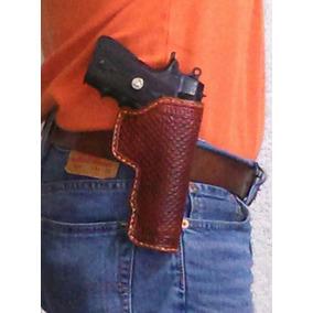 Funda De Cuero Para Pistola Escuadra 45 Colt Y Clones