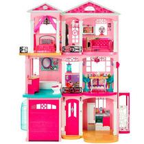 Nova Casa Dos Sonhos Mattel Original Mansão Barbie