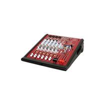 Audiogalaxy - Mezclador Usb De 8 Canales - Negro