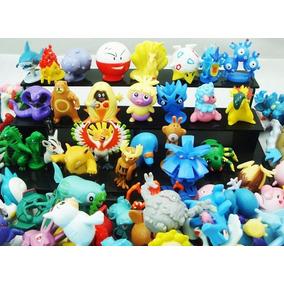 Super Colección 144 Minifiguras De Pokemon Al Azar 2 A 3 Cm