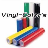 Vinil De Colores Para Corte (incluye Iva)