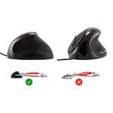 Mouse Ergonomico Con Dpi Y Atras - Adelante Para Navegacion