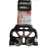 Carro Plegable Aluminio Hasta 80kg Reforzado Zorra Carrito