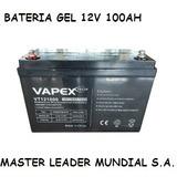 Bateria 12v 100ah 12 V 100 Amper Vapex Lider En Mercado