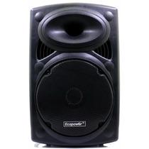 Ecopower Ep1904 12 350w Rms Mic S/ Fio Bateria - Bluetooth