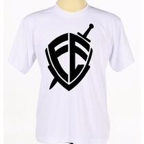 Camisa Camiseta Estampada Banda Gospel Fé André Valadão
