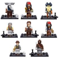 Kit Piratas Do Caribe Jack Sparrow - Pronta Entega