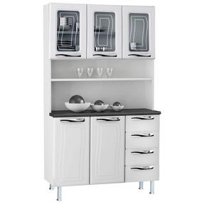 Kit De Cozinha Em Aço Colormaq Com 5 Portas E 4 Gavetas Bran