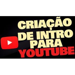 Edição De Vinhetas De Abertura De Canais E Vídeos Do Youtube