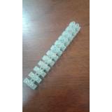 Regleta Plastica 12 Terminales 6amp Bornera