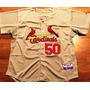 Camisa St. Louis Cardinals Adam Wainwright Majestic Elite