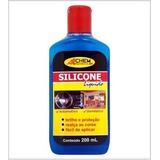 Silicone Liquido Automotivo 200ml P/pneu, Painel Allchem