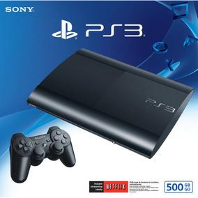 Sony Ps3 Playstation 3 500gb + Fifa 2015 Local Rosario Centr