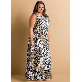 Vestido Longo Plus Size ( Roupa Tamanhos Grandes )