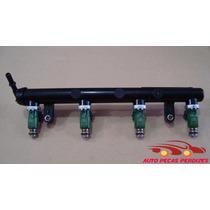 Flauta Bico Injetor Gm Astra/vectra/onix 1.4 Orig 24578820