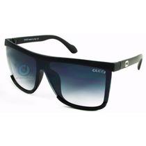 Oculos De Sol Quadrado Preto   Masculino   Feminino   Top