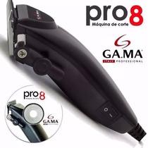 Cortadora De Pelo Italiana Gamma Pro 8 Uso Salon Profesional