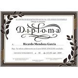 Impresiones De Certificados, Diplomas, Tarjetas Personales