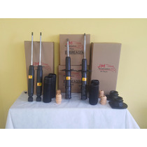Kit Amortecedor Turbo Gás Palio Fire C/ Kits Batente E Coxim