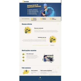 Tema Wordpress Responsivo Para Sites De Construção Civil