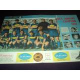 Boca Campeon 1962 !!! Lamina Suelta / El Grafico