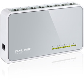 Switch Tp-link Tl-sf1008d De 8 Portas 10/100mbps