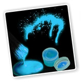 ¡ Pintura Cuerpo Glow In The Dark Body Paint Luz Uv Azul !!