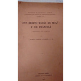Don Benito María De Moxó Y De Francolí, R. Vargas Ugarte Sj