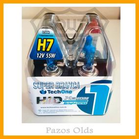 Kit Lâmpada Super Branca H7+ H1+ H27 8500k Kia Cerato 09/13