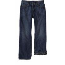 Jeans Old Navy Talla 18 Mezclilla Con Forro De Calavera