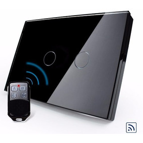 Interruptor Touch Livolo 2 Vias Preto Rf Paralelo Three Way