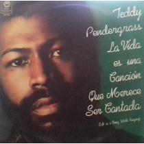 Teddy Pendergrass La Vida Es Una Cancion Vinilo Lp Pvl