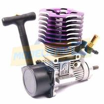 Hsp Motor Combustão .18 Nitro 1.0hp Roxo C/ Tambor Partida M
