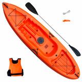 Kayak Sit On Top Honu 1 Persona Rio Mar + Pala Doble Oferta!