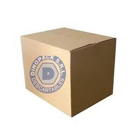20 Cajas De Carton Corrugado 60x40x30 + Cinta De Regalo