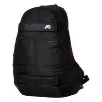 Mochila Nike Sb Embarca Negra Skate Porta Tabla P/laptop