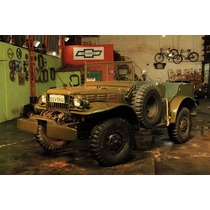 Dodge Commander 1942 100% Restaurado, Original E Novo!!!