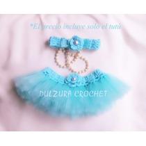 Tutú Falda Ballet Bebés Niñas Tejido Crochet Princesa Regalo