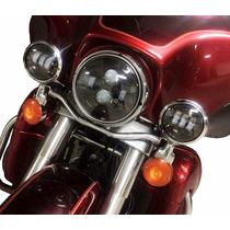 Farol De Led 4.5 Auxiliares Daymaker Harley Davidson