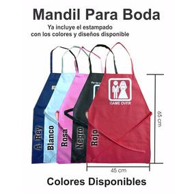 Mandil Ecologicas 65x45, Económico, Publicidad, Propaganda