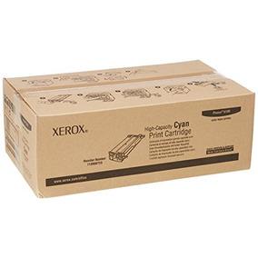 Xerox 113r Cartucho De Tóner Cyan De Alta Capacidad Para Ph